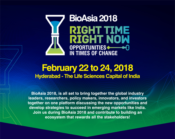 BioAsiA 2018- The Life Sciences Capital of India